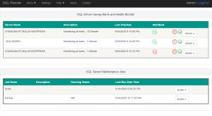 SQL Monitor List