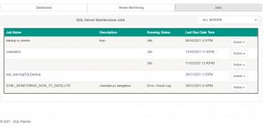 SQL Backup Dashboard